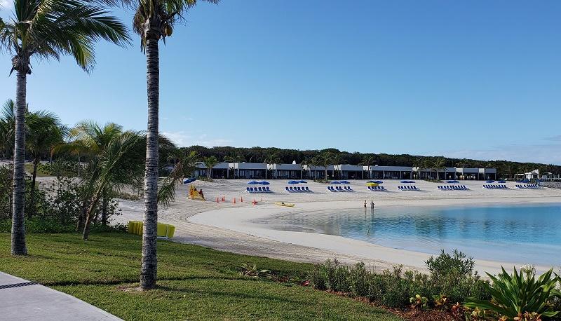 Silver Cove beach area