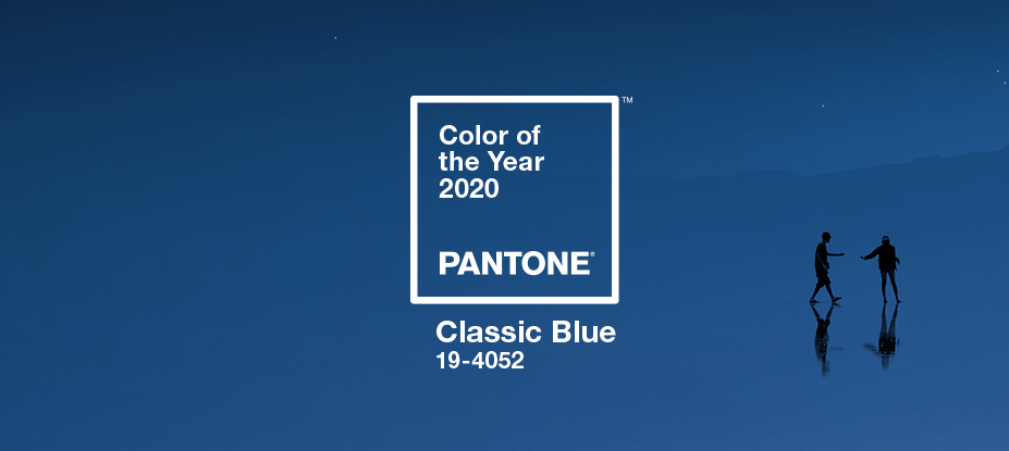 Pantone 19-4052 Classic Blue is the company's Color of the Year for 2020.
