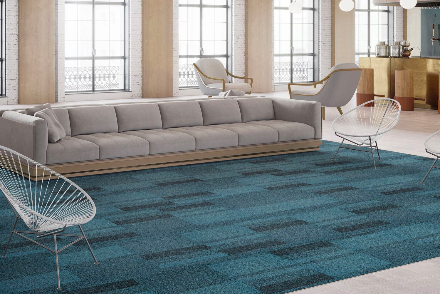 Tarkett launched new flooring products, Braided & Meshwork, that work in a variety of commercial spaces.