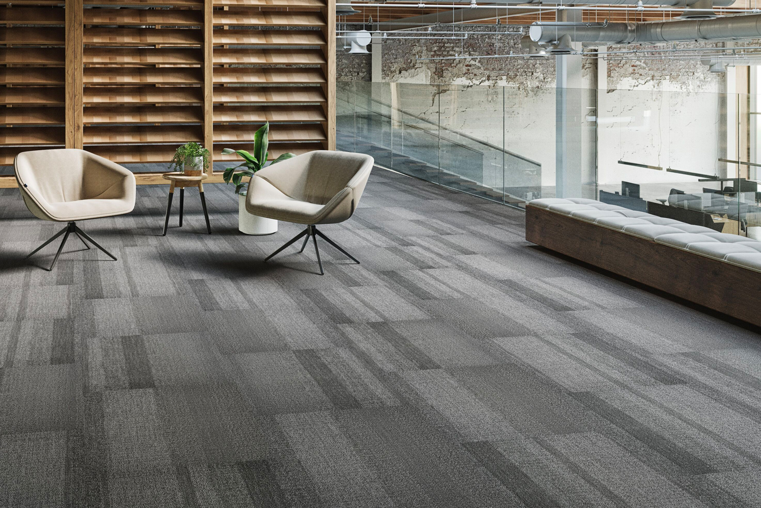Braided is made with a new pivot installation method and is offered on ethos Modular with Omnicoat Technology backing.