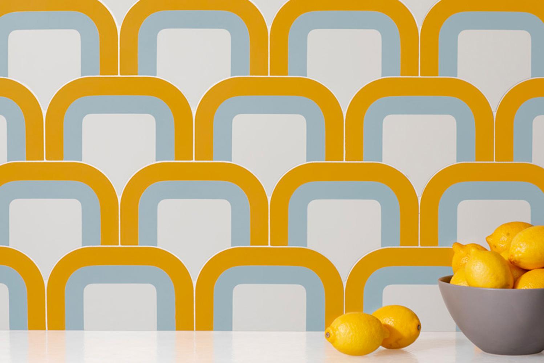 Walker Zanger announced its latest collaboration with designer Pietta Donovan.