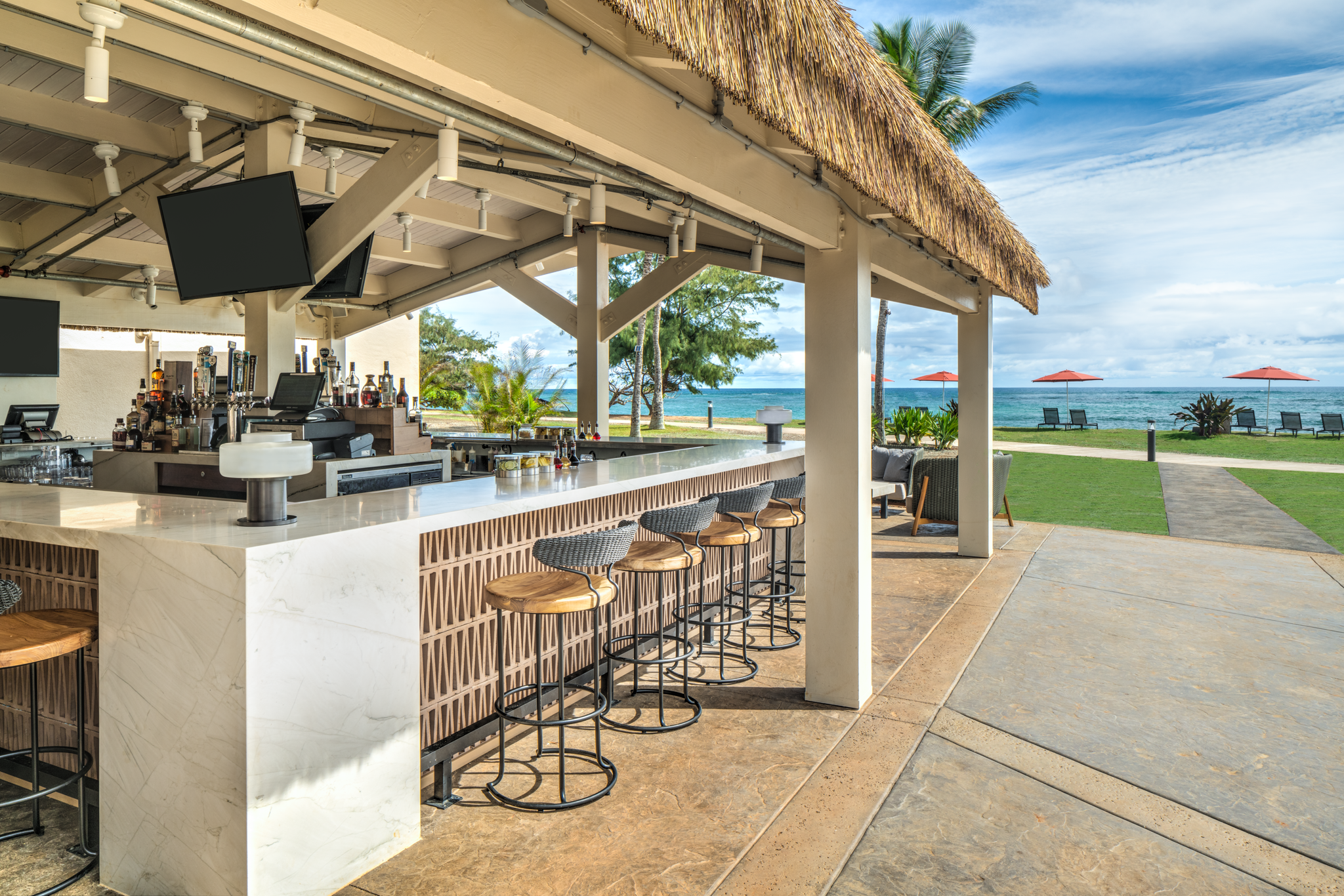 The resort went from a two-food-outlet property to having four restaurants.