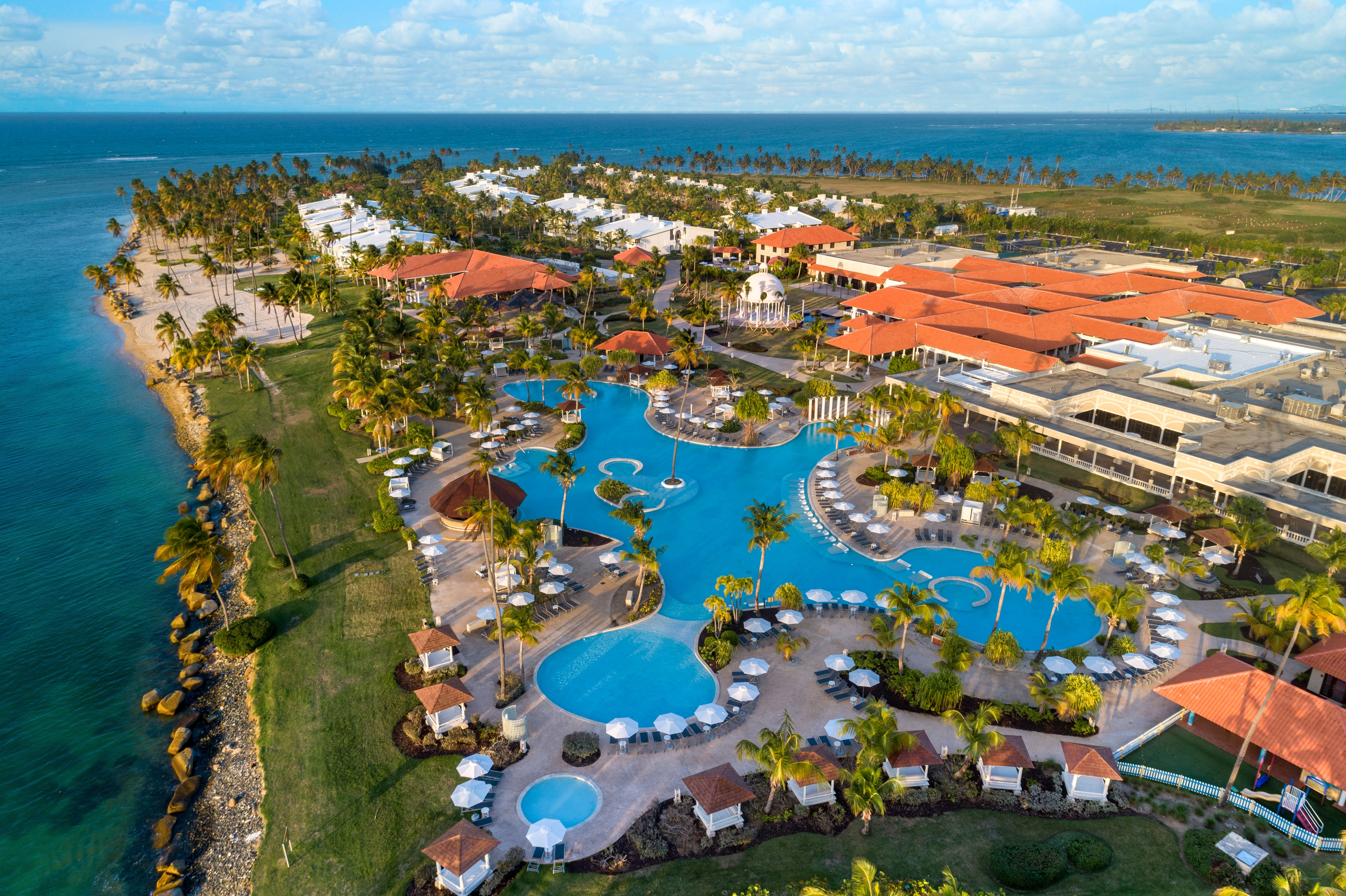The new Hyatt Regency Grand Reserve Puerto Rico was known as the Gran Meliá Hotel, and later as The Resort at Coco Beach.
