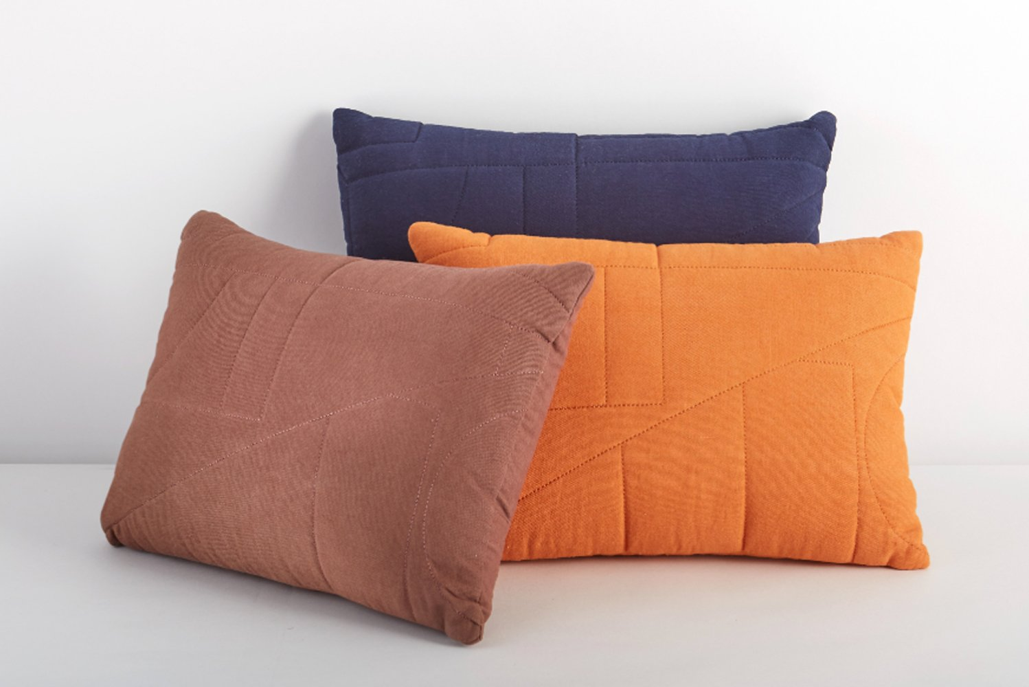 The Lennox pillow is made from a durable, woven cotton duck fabric.