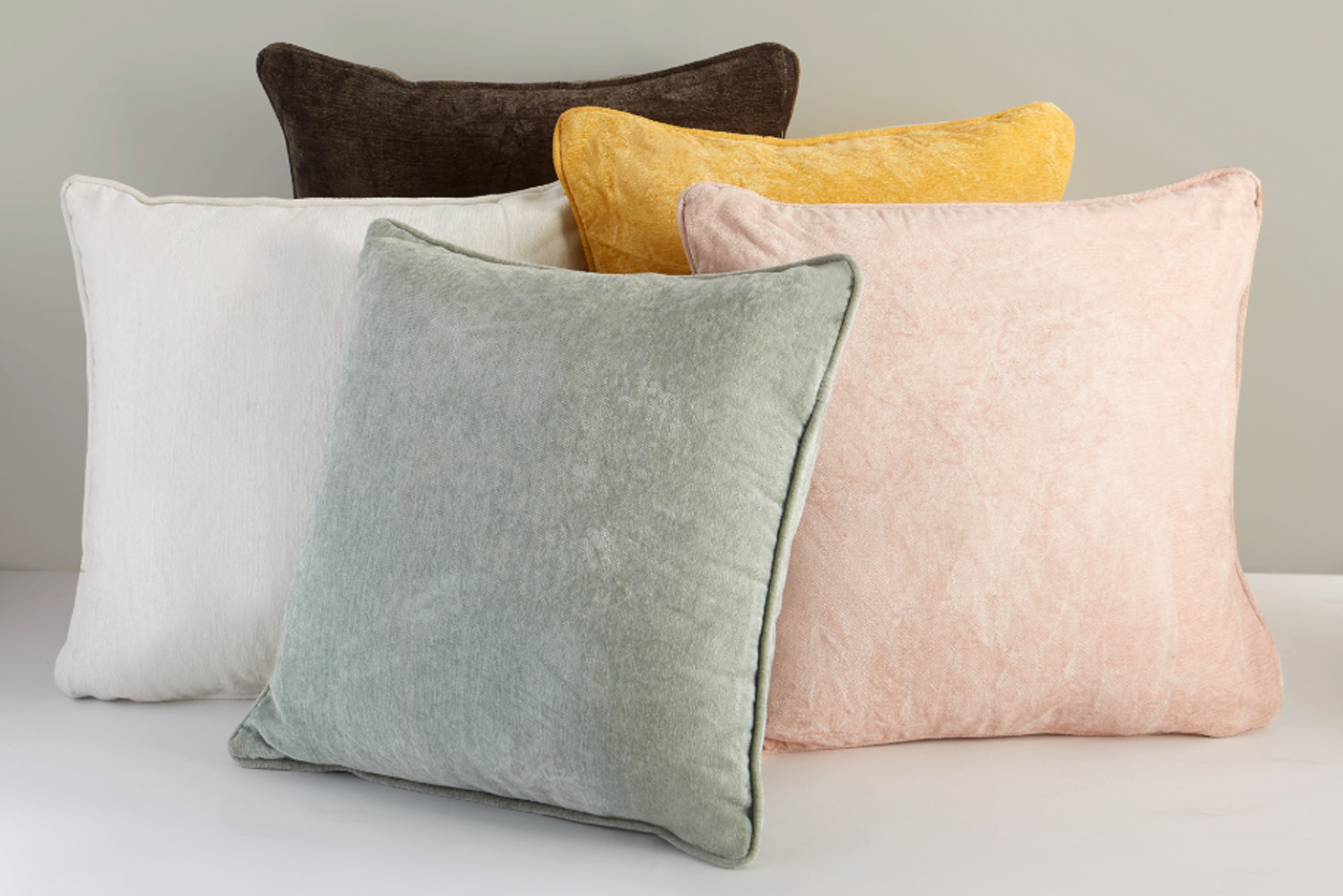 The Loom pillow is an18-inch square pillow that comes in neutral shades.