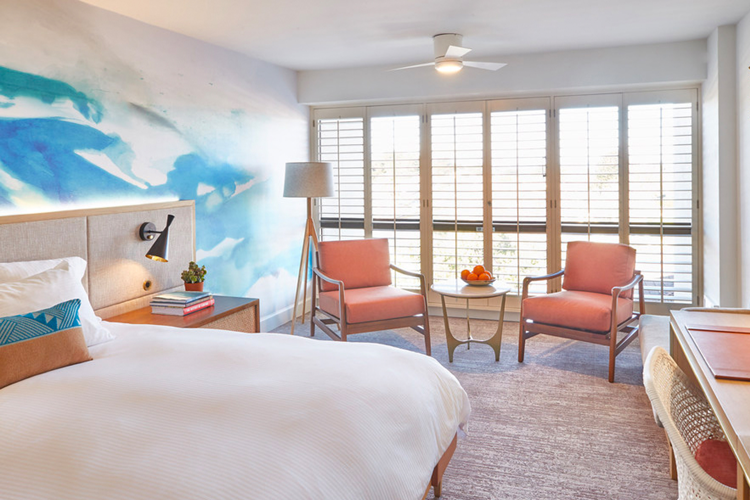 Portola Hotel & Spa, the Four-Diamond hotel situated along Central California's Monterey Bay, is undergoing renovations.