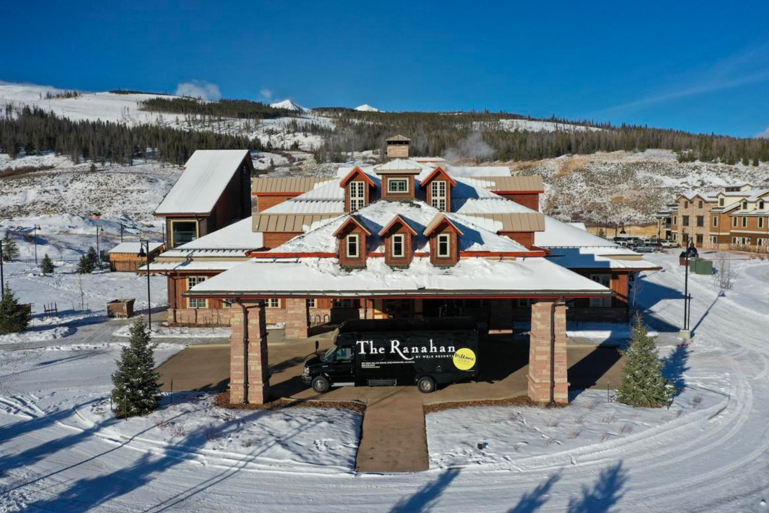 The Ranahan by Welk Resorts opened as a six-acre property overlooking the Blue River in historic Breckenridge, Colorado.