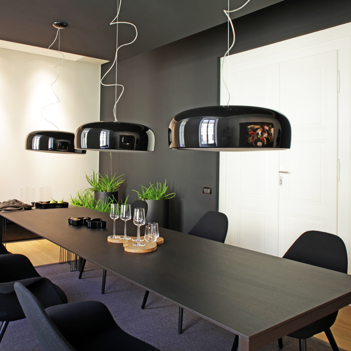 The Smithfield LED Pendant and Ceiling lights have an unassuming touch.
