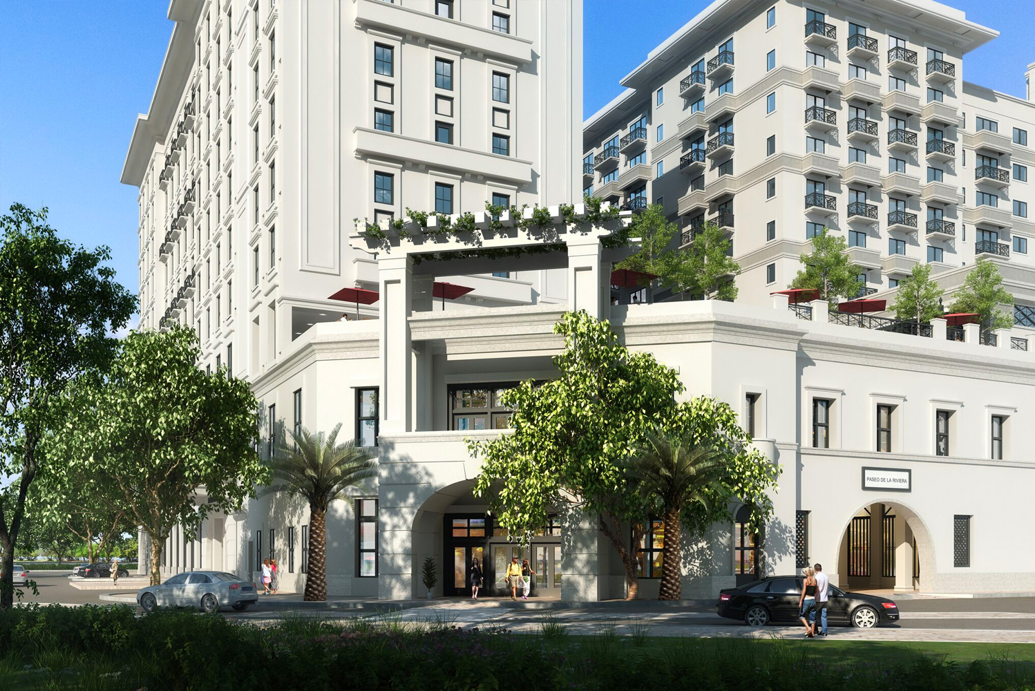THēsis Hotel Miami, part of the Paseo de la Riviera mixed-use development, will have 245 guestrooms, two restaurants and co-working spaces.
