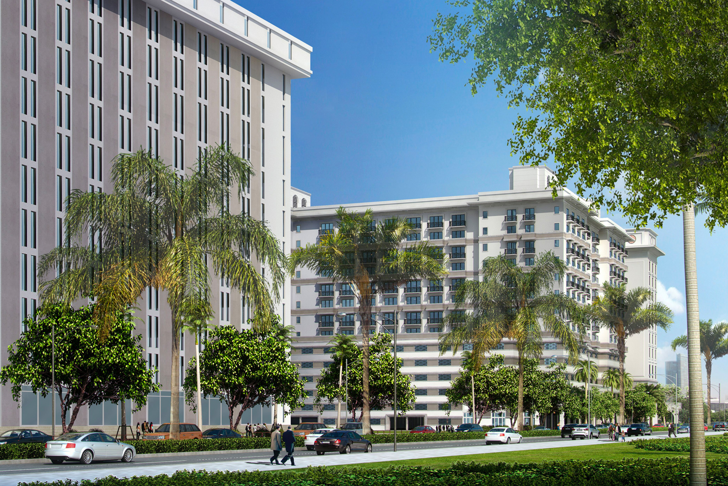 THēsis Hotel Miami will be located at 1350 S. Dixie Highway, directly across the street from the University of Miami and with access to public transportation through the pedestrian bridge across US-1.