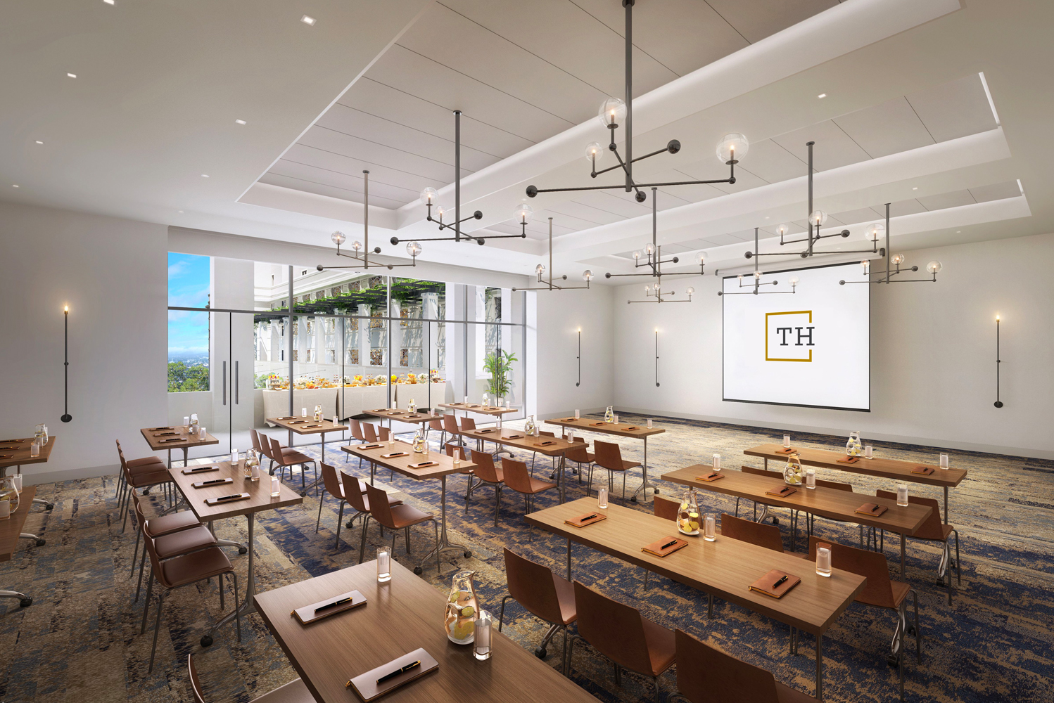 The hotel will offer guests access to a rooftop pool, 6,500 square feet of meetings and events space, complimentary Wi-Fi and community-inspired programming.