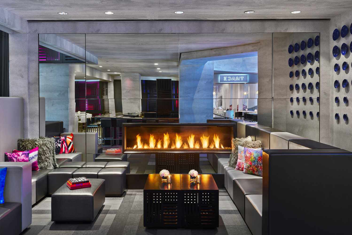 The hotel also celebrates the technological revolution that fuels the San Francisco today.