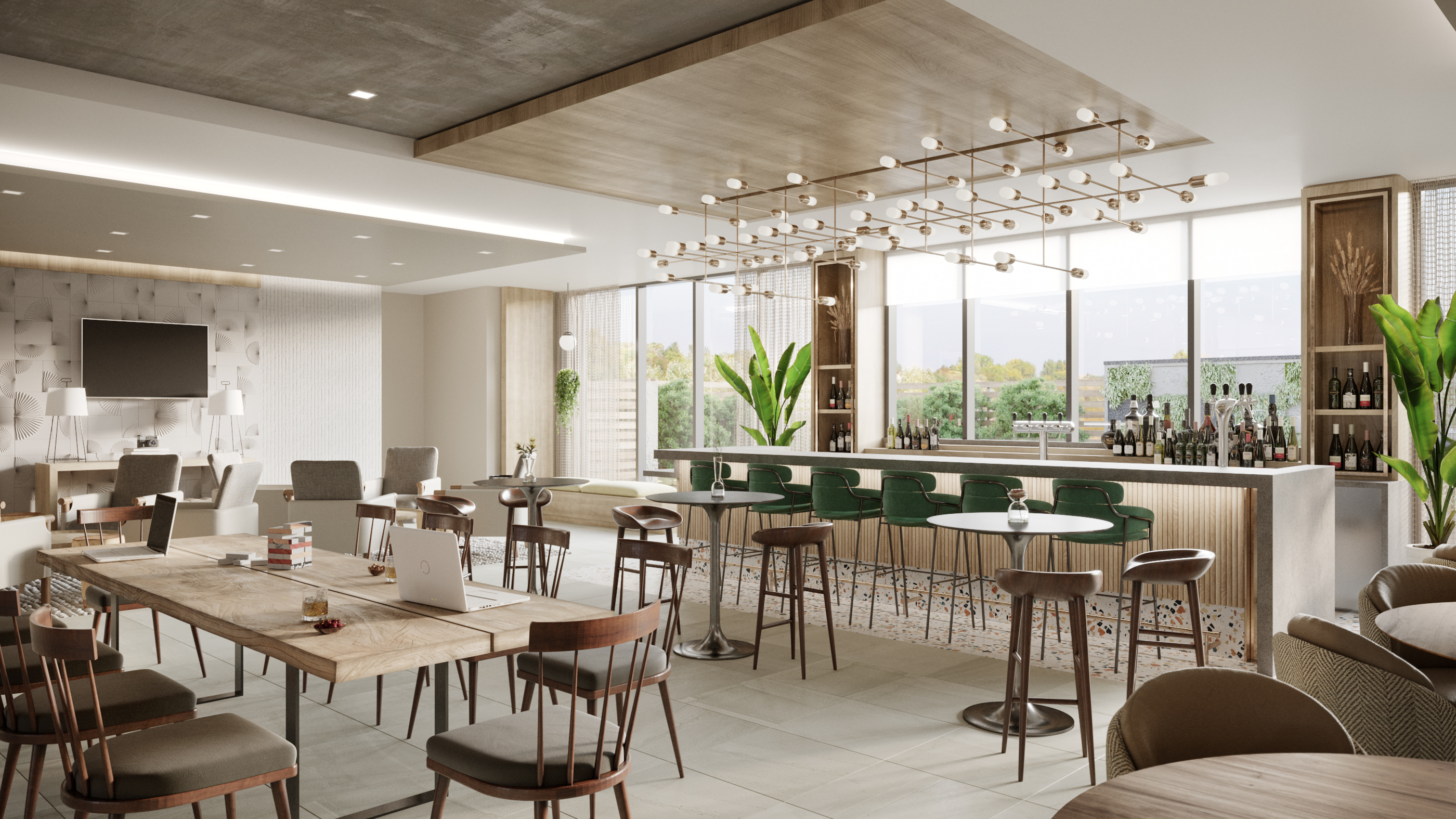 The dining concept relies on a few ingredients to keep costs low.