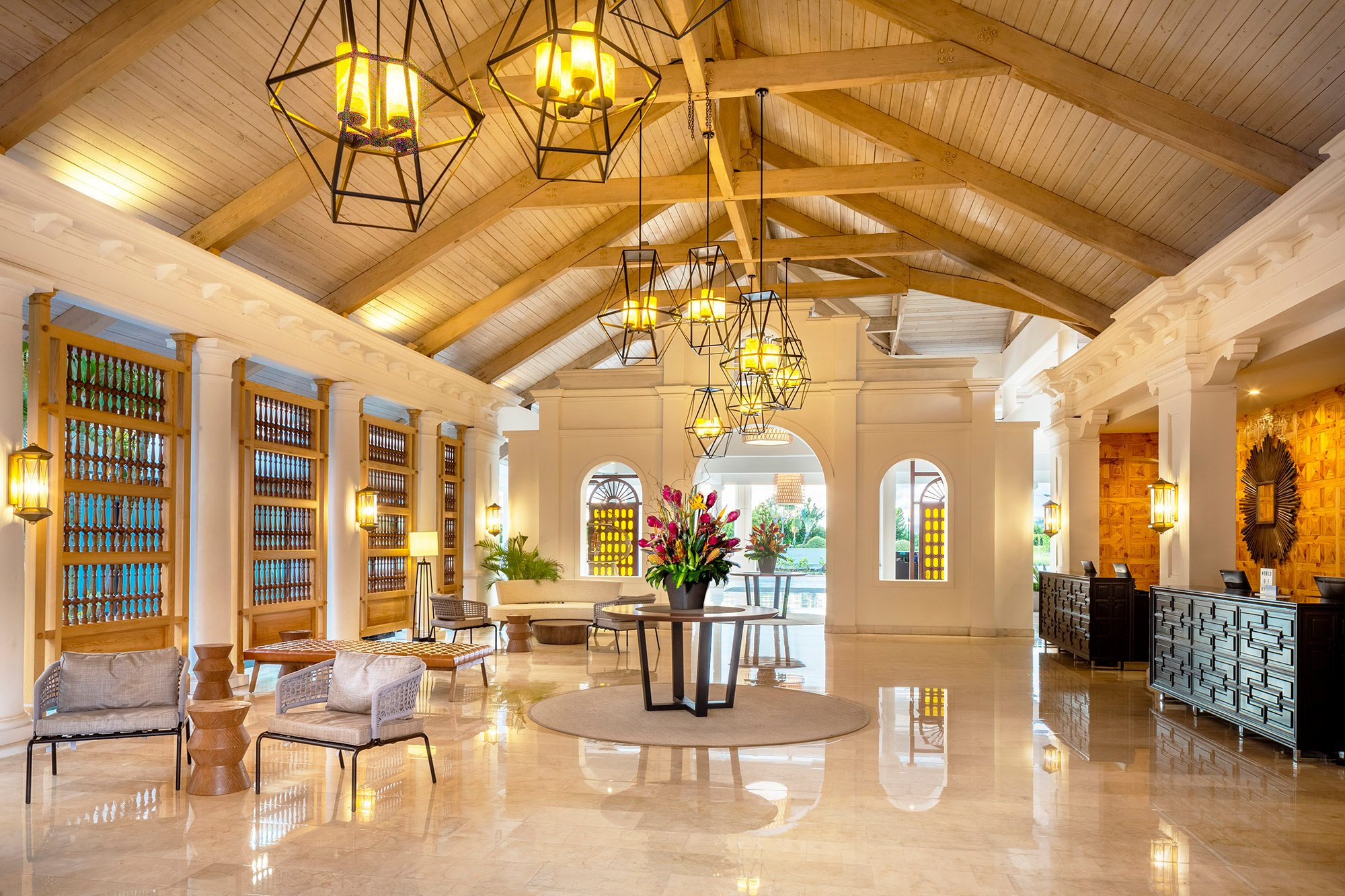 The Hyatt Regency Grand Reserve Puerto Rico is the closest full-service luxury resort to the San Juan International Airport.