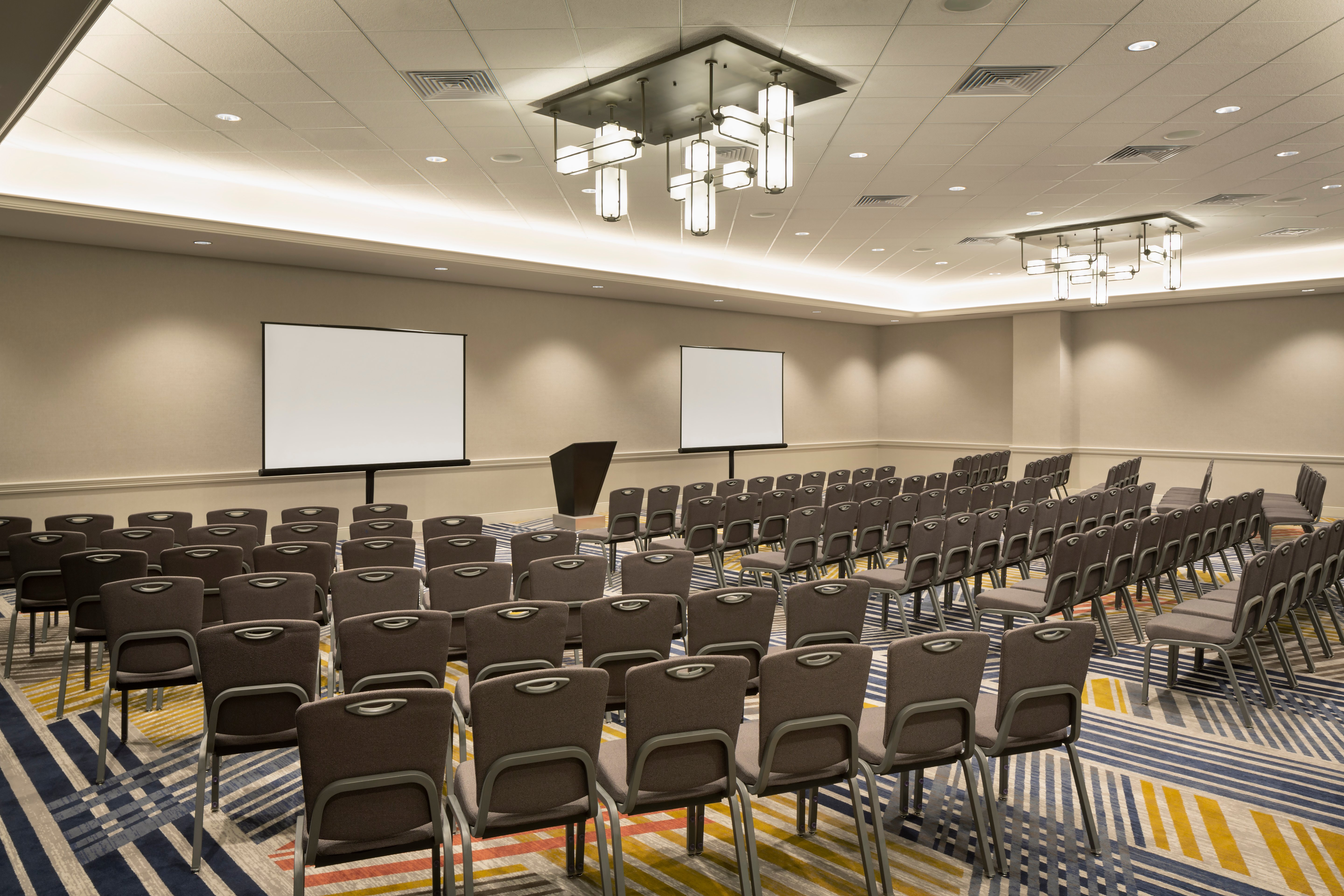 The hotel added four new meeting rooms to its 50,000 square feet of meeting and event space.