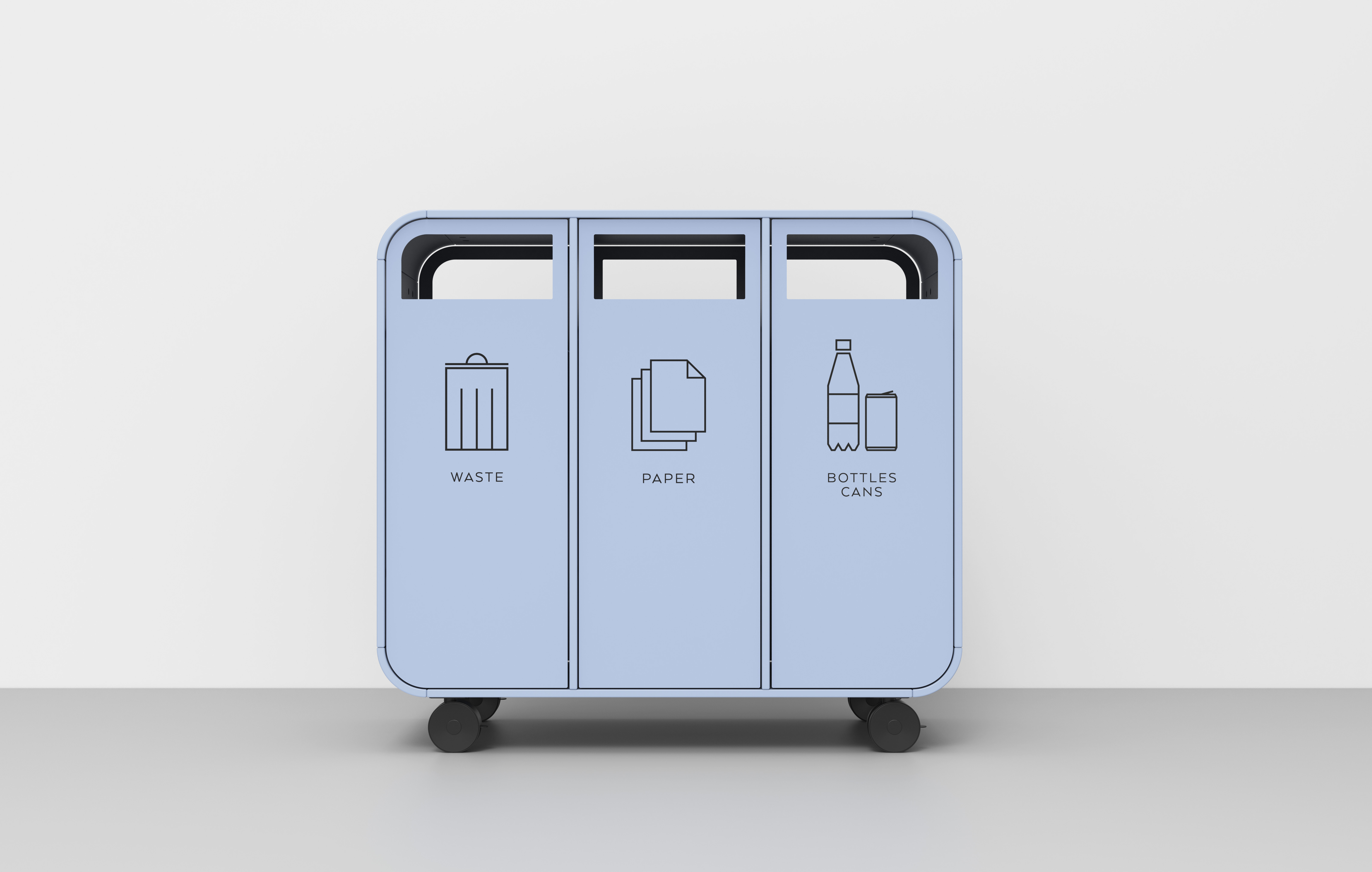 Cloud is a mobile recycling unit designed for flexibility.