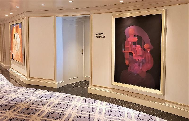 Seven Seas Splendor has a multimillion-dollar art collection. Photo by Susan J. Young
