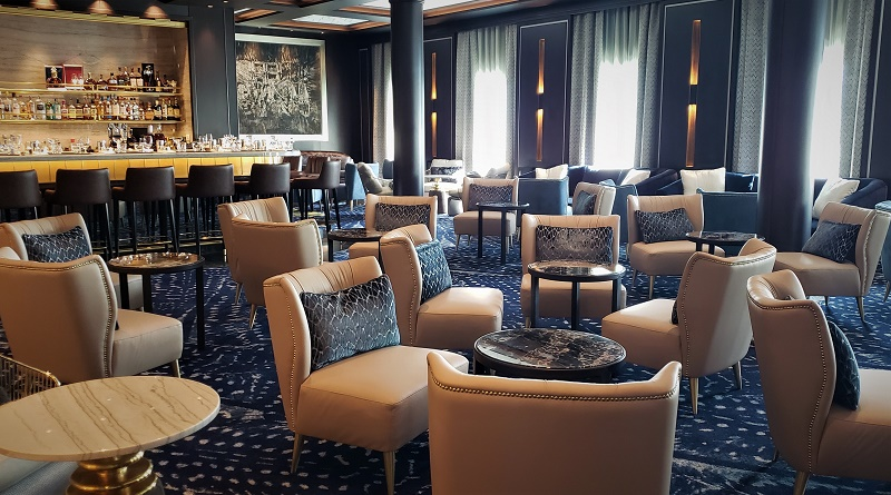 Meridian Lounge on Deck 5