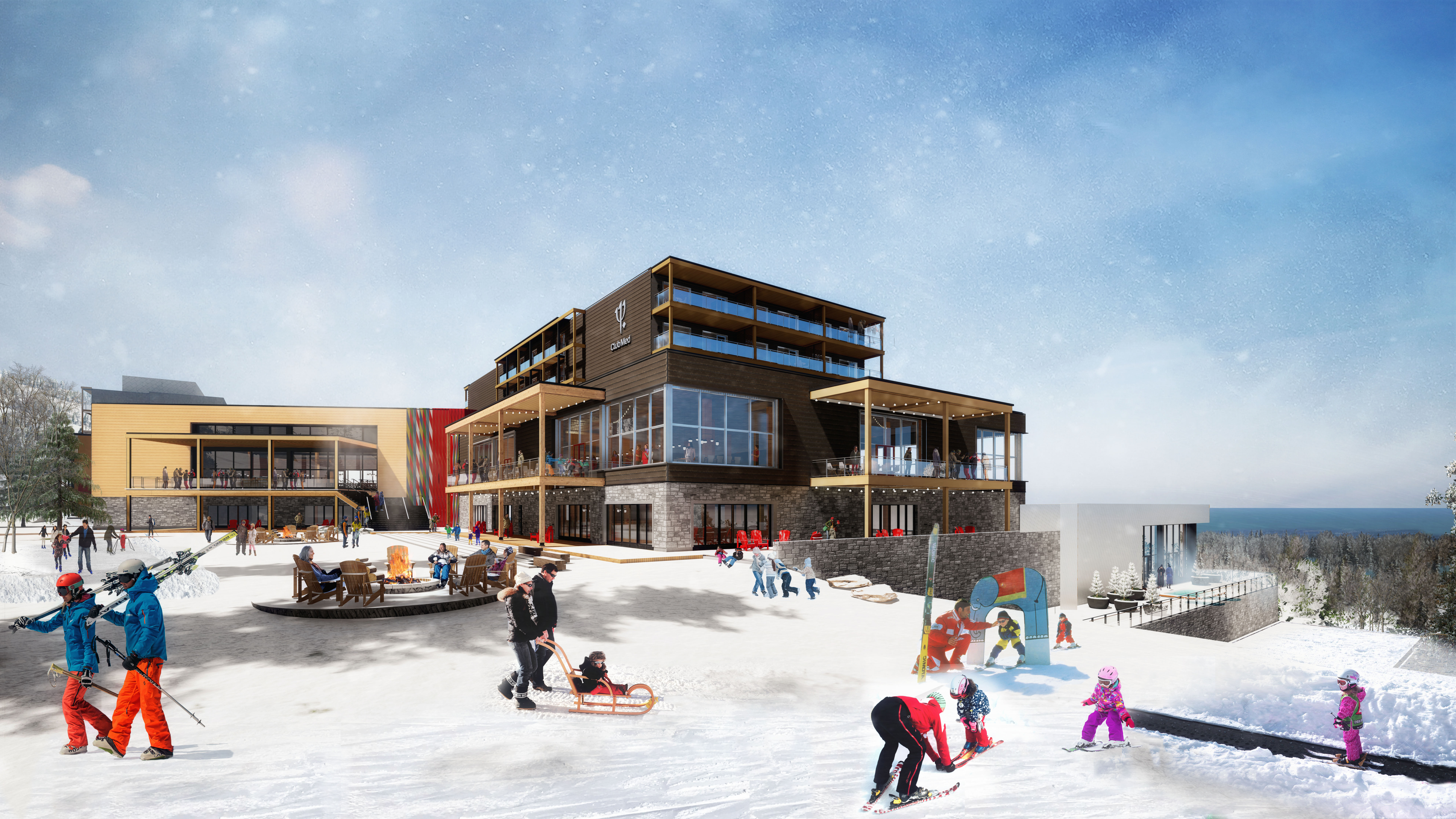 Club Med will make its debut in Canada next year.