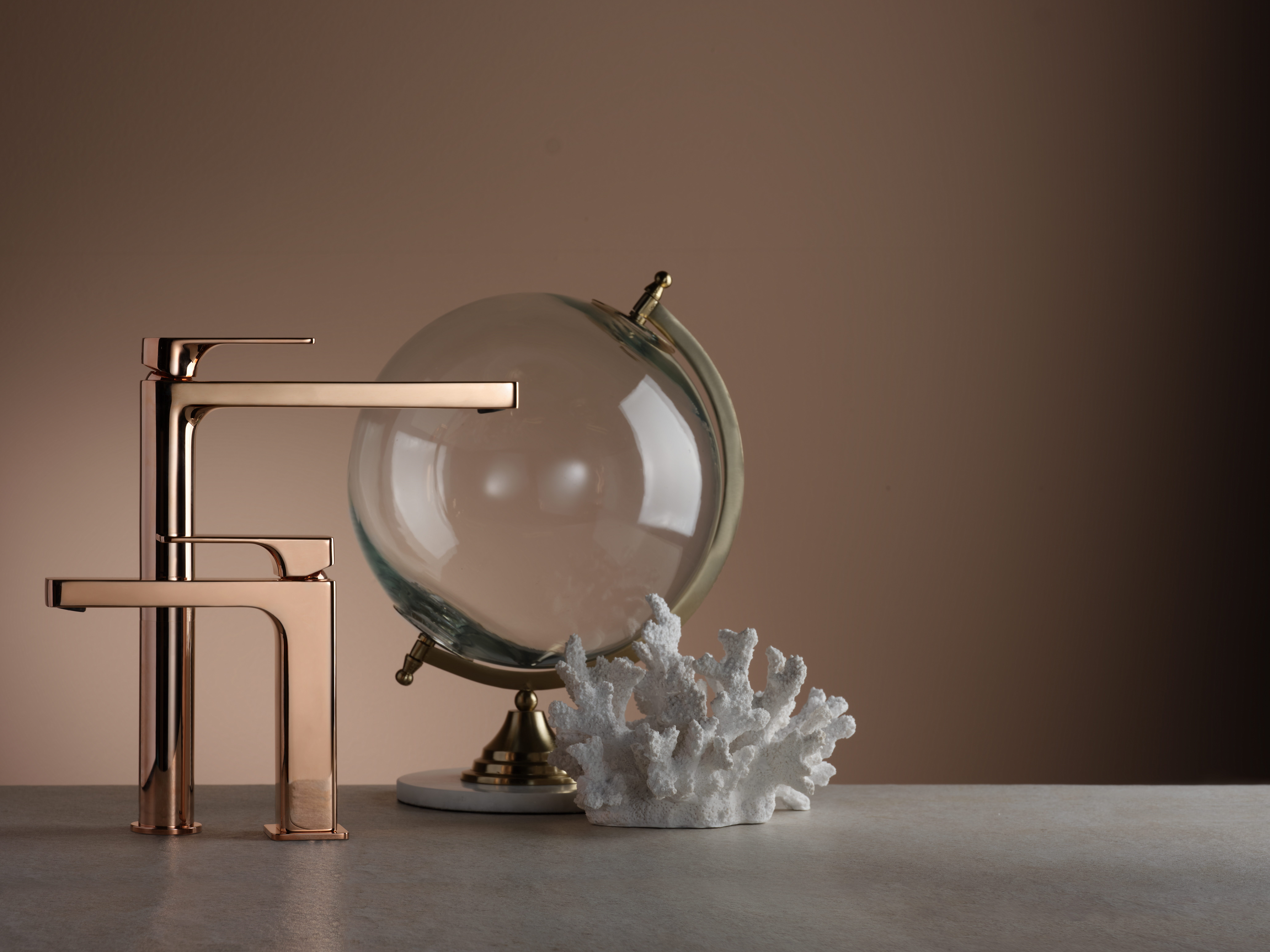 Three variations on rose gold are available, from classic chrome...