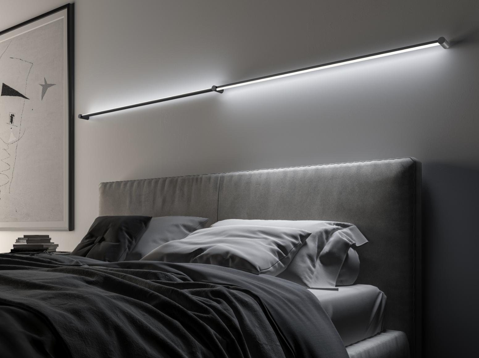 The rotatable Purolinear 360 luminaires provide direct or indirect illumination.