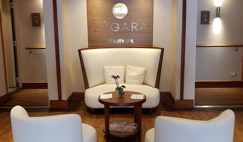 Entrance to the Zagara Beauty Spa. Photo by Susan J. Young