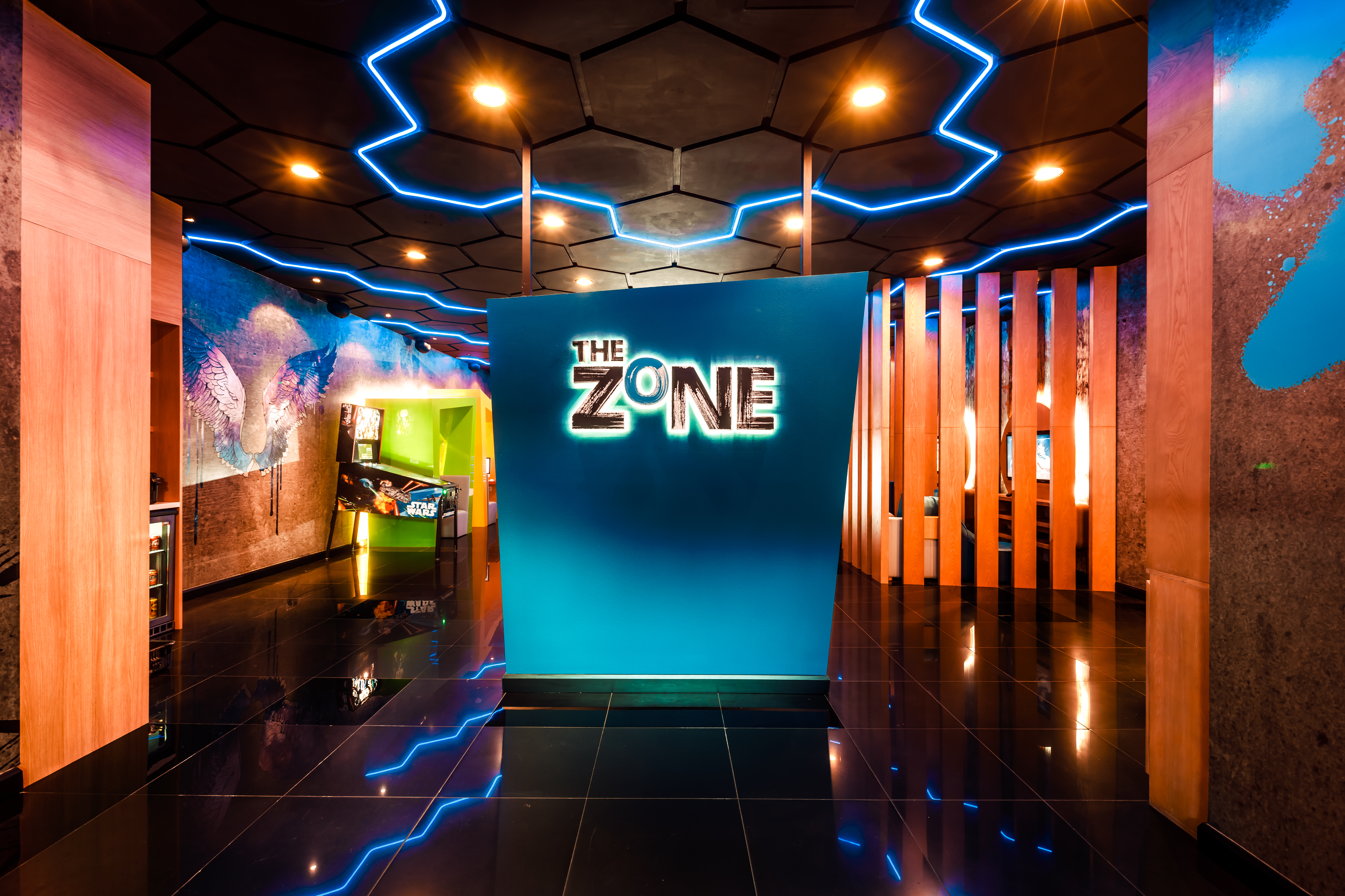 The Zone is a teen-only hangout.