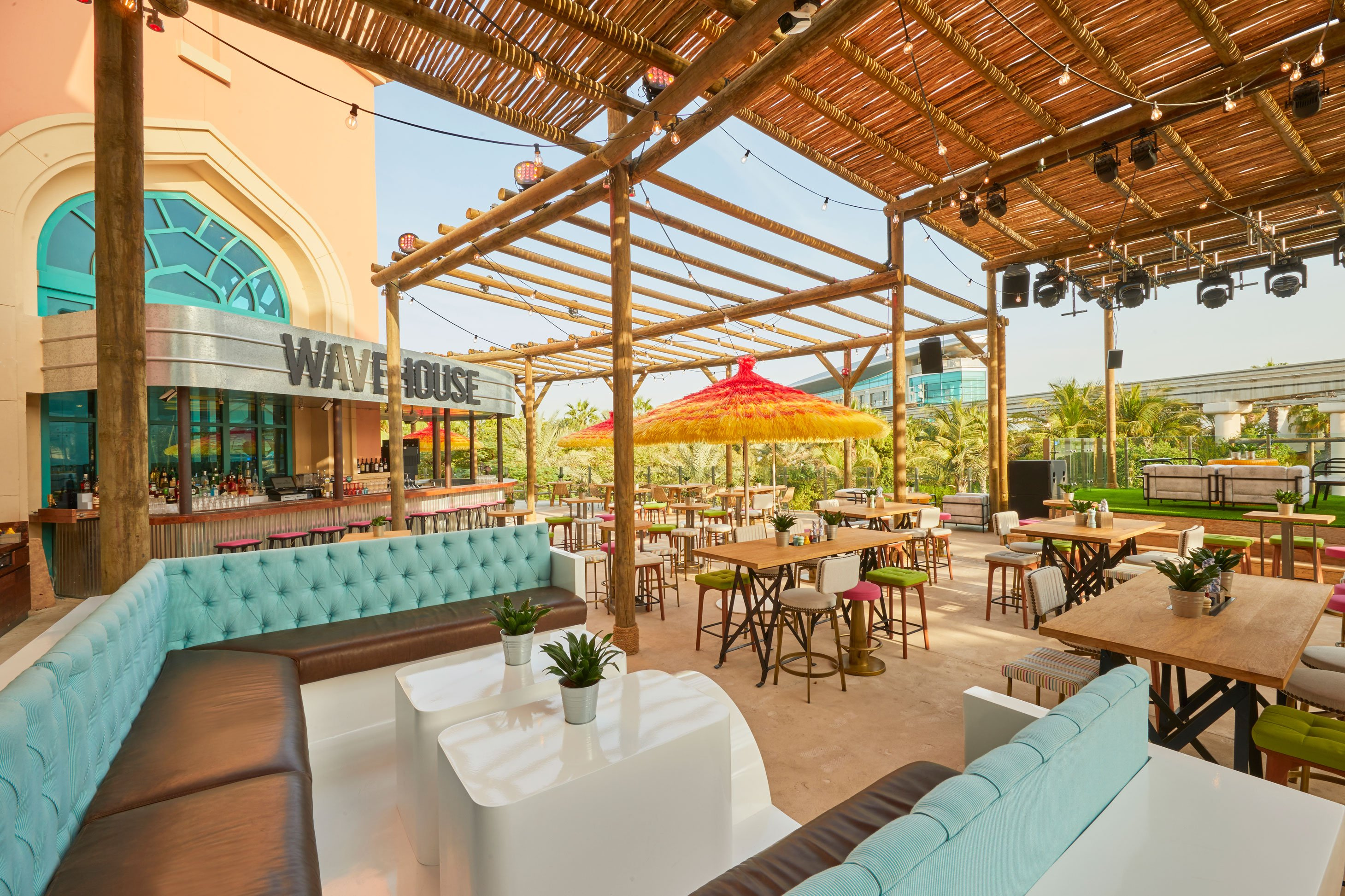 Wavehouse is one of four new restaurants at the resort.