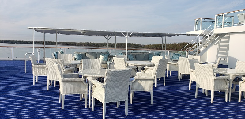 Sun Deck of American Harmony. Photo by Susan J. Young