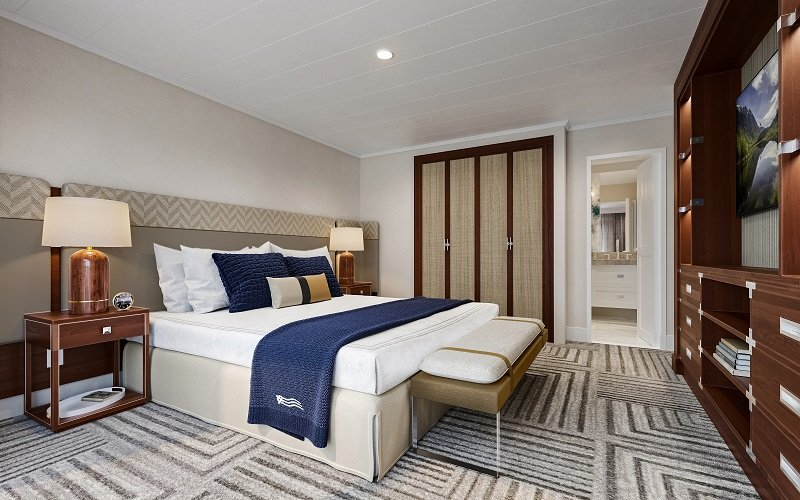 Suite bedroom on American Melody
