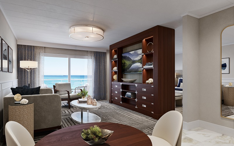 Suite living room on American Melody