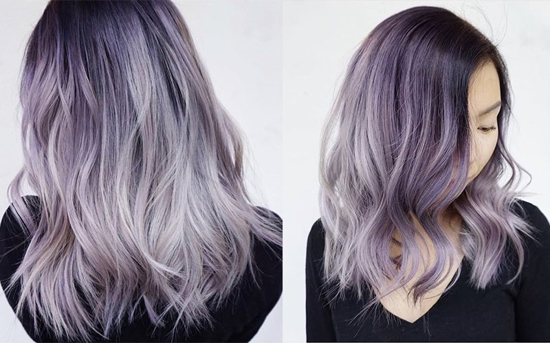 Color How To Smoky Lavender Melt American Salon