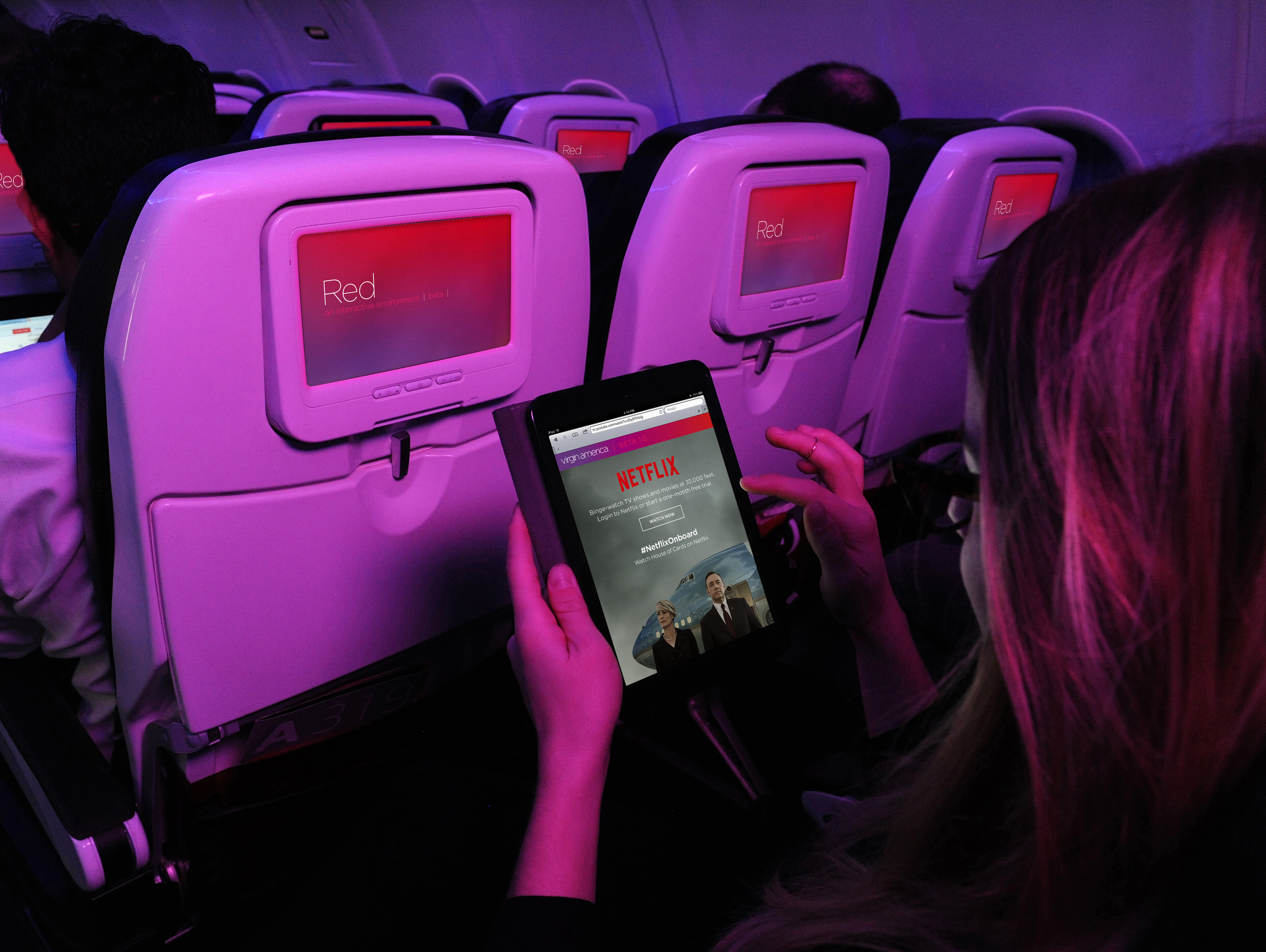 Netflix looks to grow in-flight streaming through better