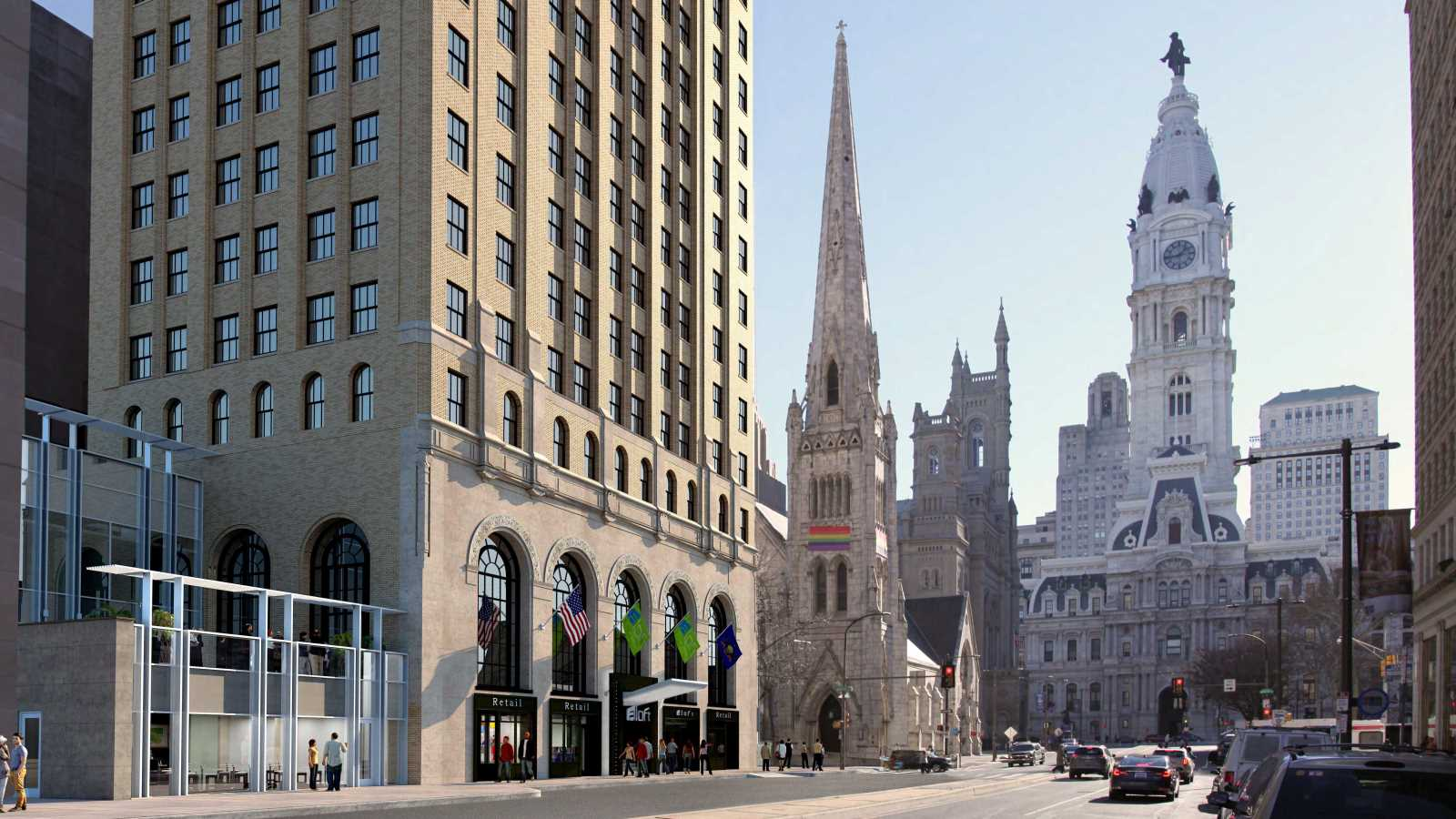 Property Management In Philly : Aloft philadelphia downtown hotel officially opens
