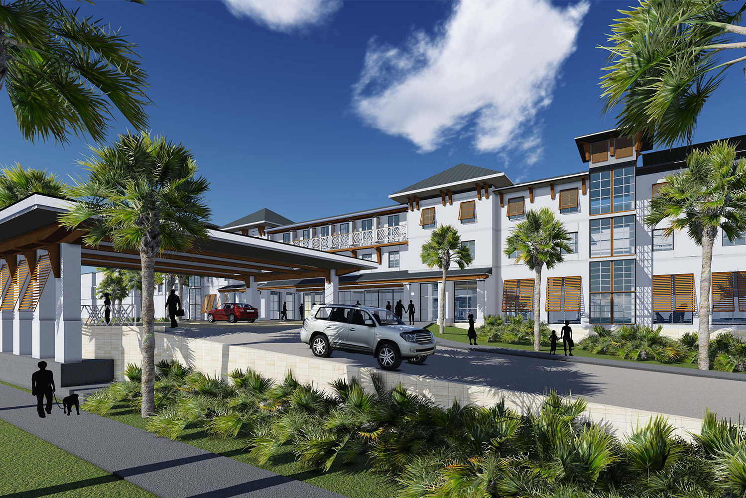 J. Banks Design, PFVS Architecture combine for oceanfront Embassy ...