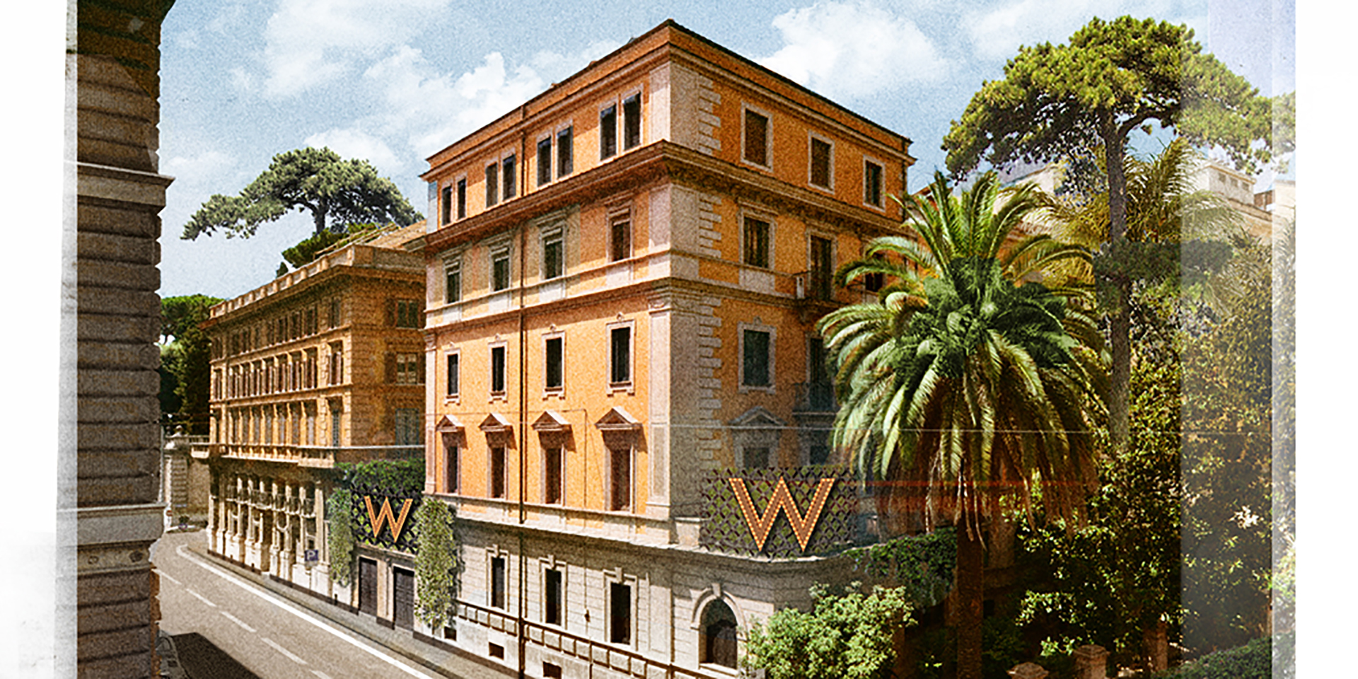 W hotels to develop w rome for italy debut hotel management for Design hotel liguria