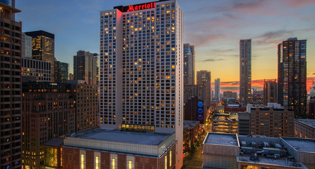The Chicago Marriott Magnificent Mile Installs 12 Rooftop Solar Panels Hotel Management