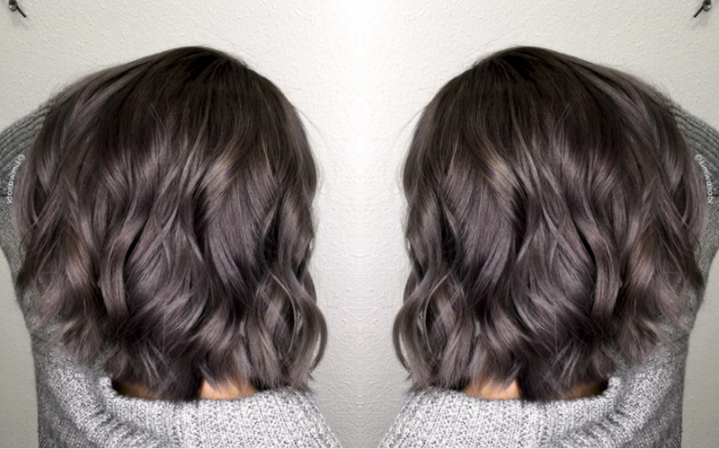 Color How To Charcoal Gray American Salon