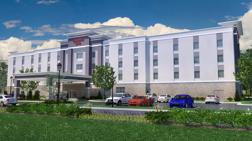 The new 112-room hotel is anticipated to open in summer 2019, while the nearby 48-unit townhome project is expected to be completed by October 2018.