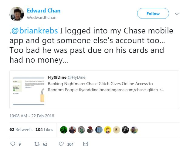 JPMorgan system glitch allowed customers to access others' accounts