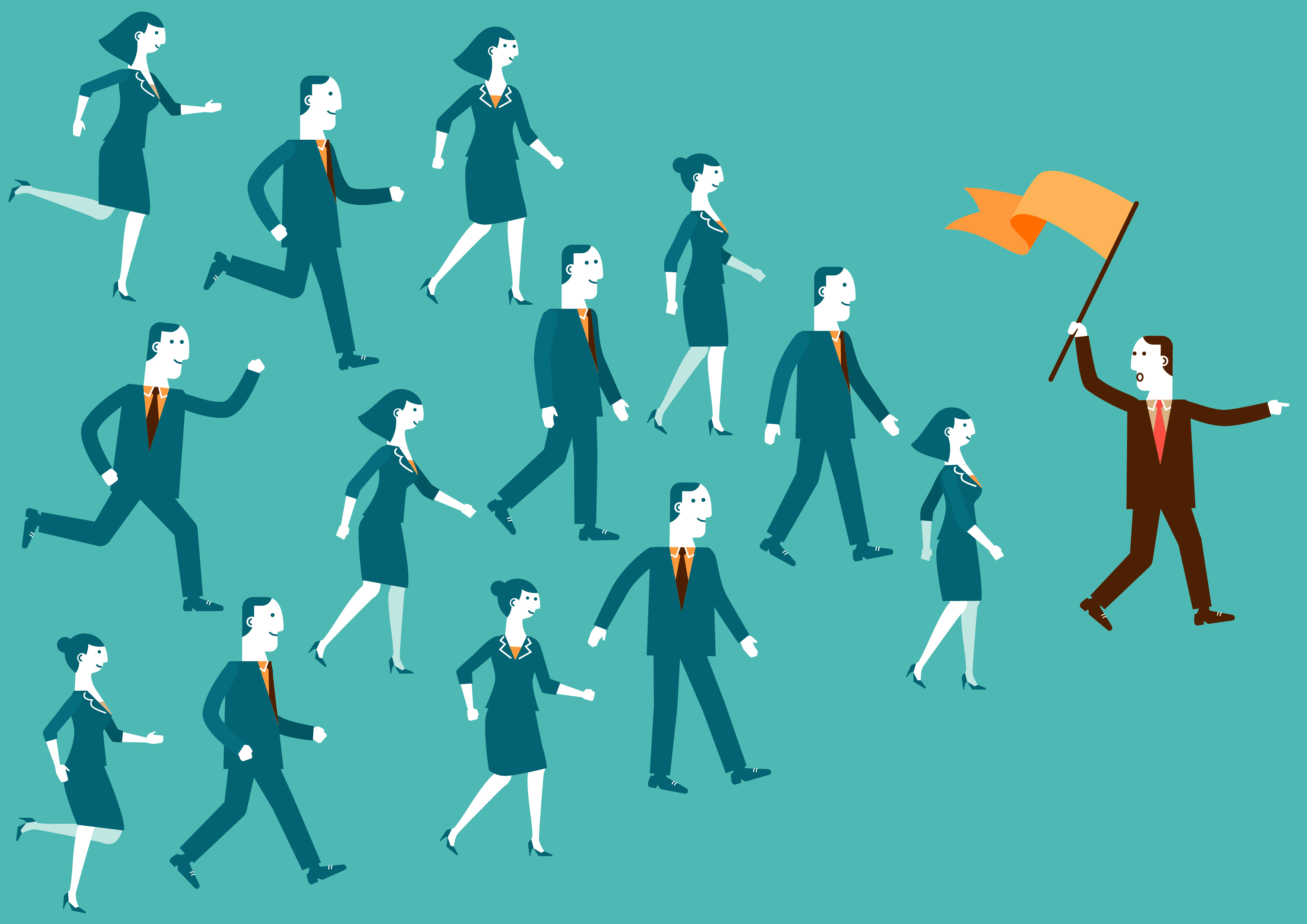 follow the leader: you're not just a manager. you're also a role