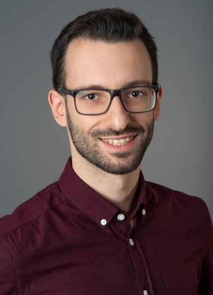 Dimitrios Damianos, PhD headshot