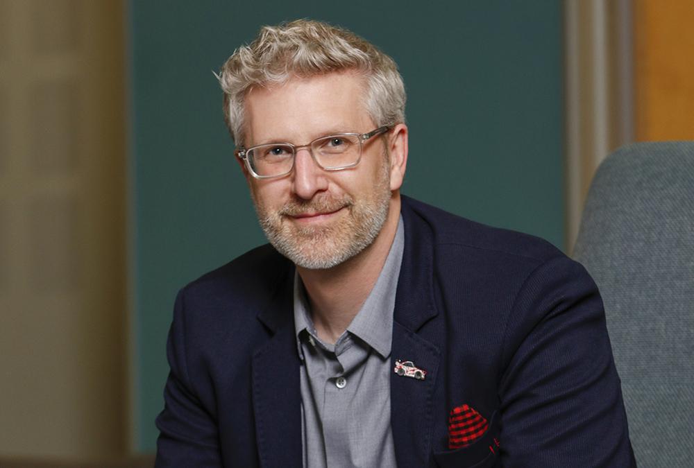 David McIntyre VP marketing Perceive headshot