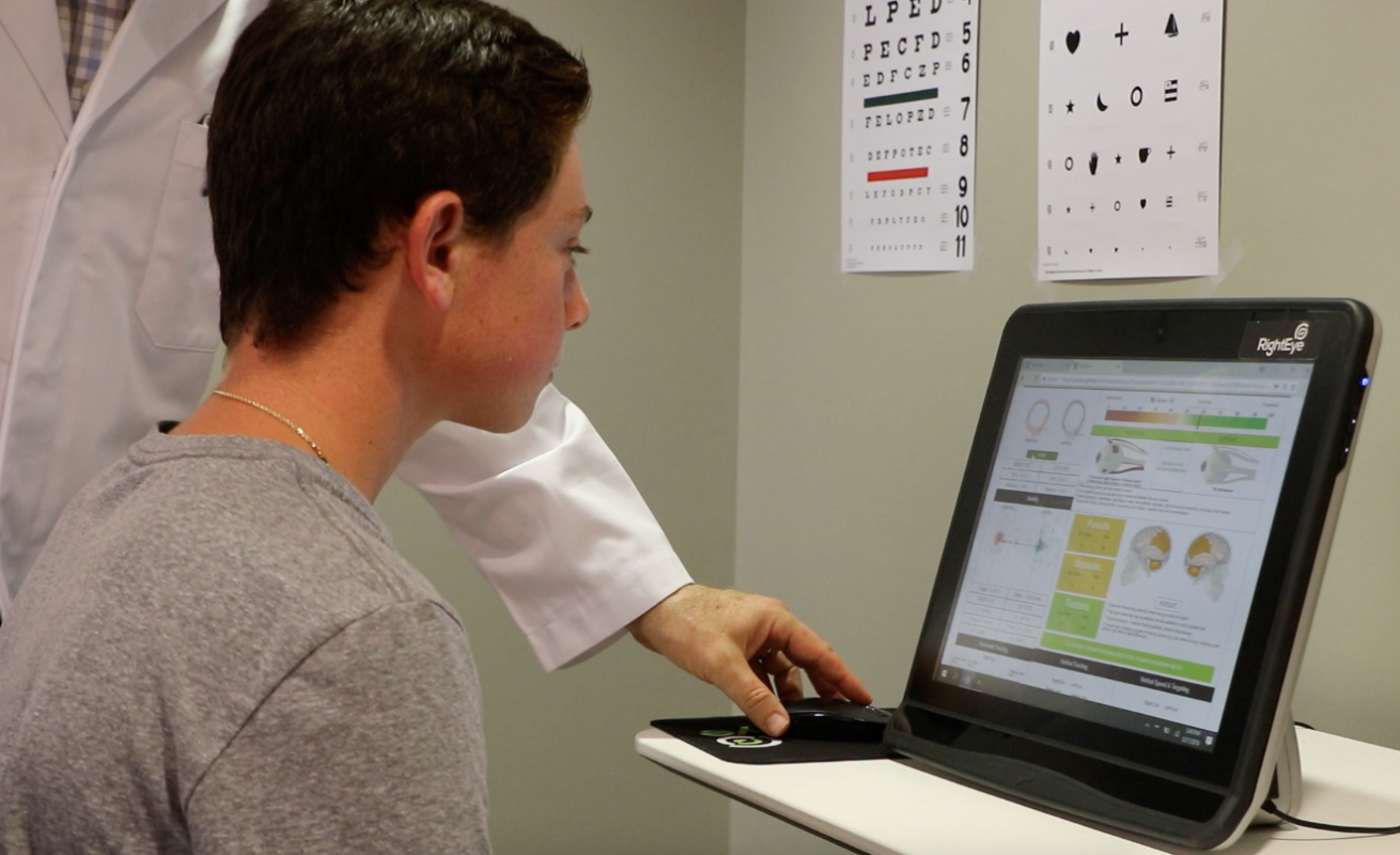 Eye-tracking tests can help diagnose, gauge severity of