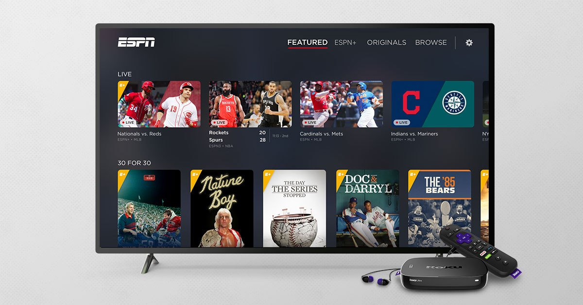 Espn Streaming Service Launches On Roku Devices Fiercevideo
