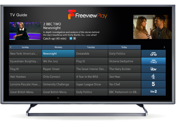 BBC, ITV, Channel 4 plot £125M investment in Freeview Play