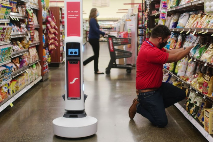 Tally 3.0 store robot gets camera and processor upgrade to spot out-of-stock items, improve sales thumbnail