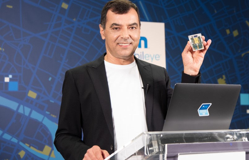 Mobileye expects consumer AV in 2025 with cameras, radars and lidar