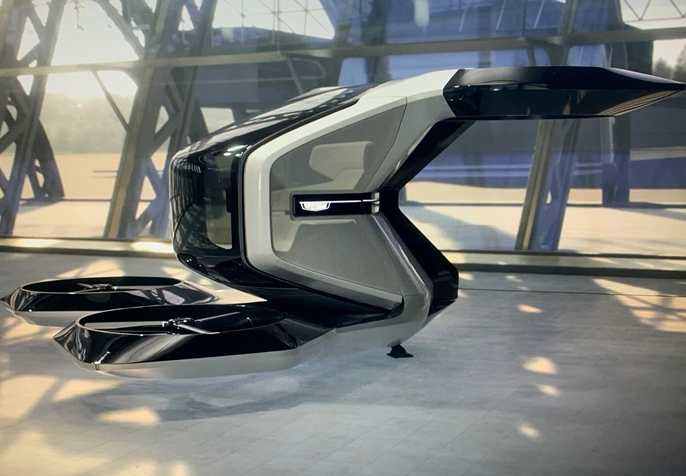 GM wows CES 2021 with flying car concept, Altium battery system and BrightDrop for logistics