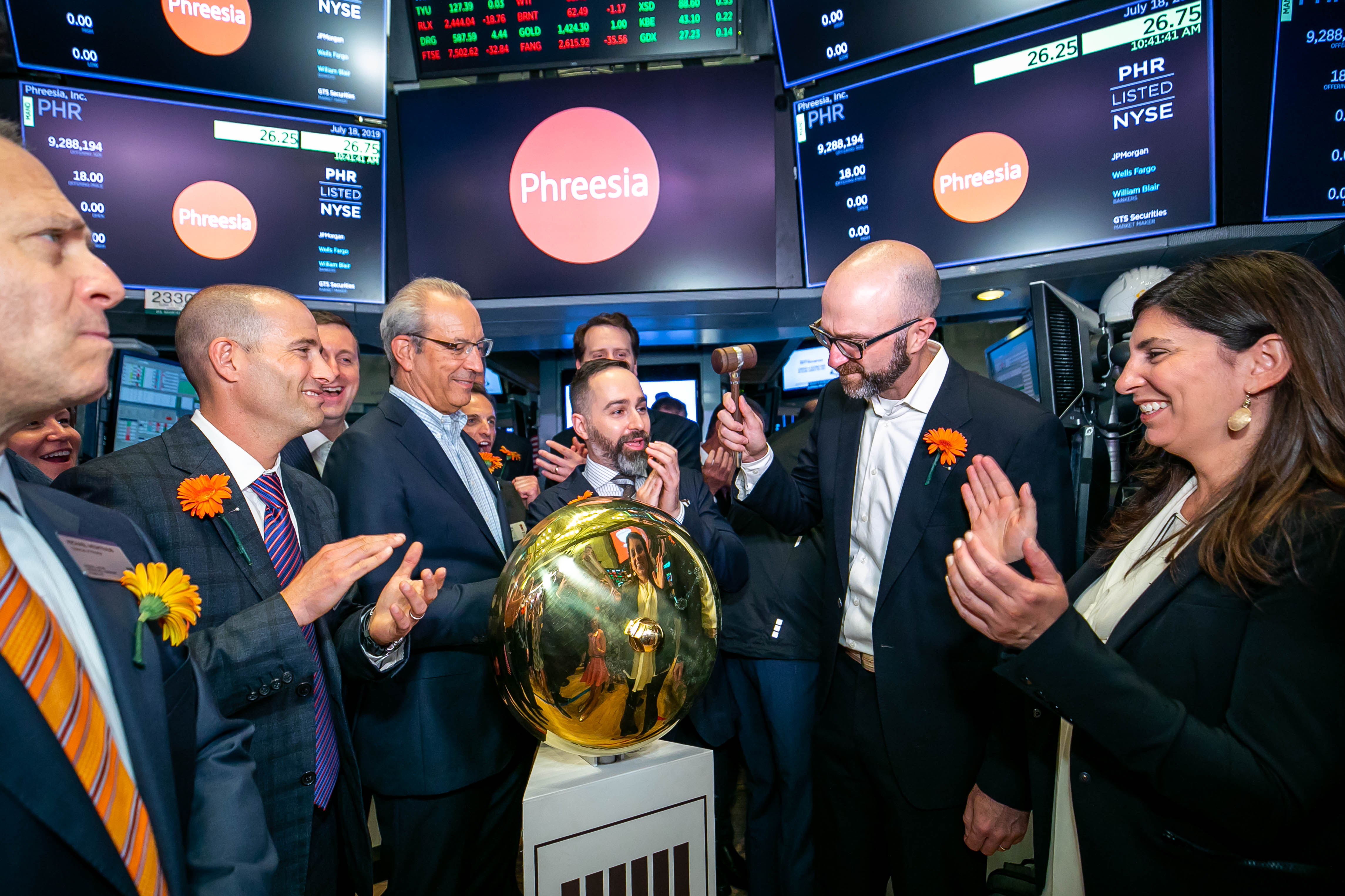 Phreesia has strong public debut as 2nd digital health IPO